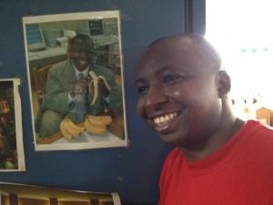 Samuel Mugisha of Bic tours